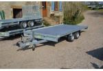 Anssems Plateau multi-usages MSX 405 x 200 plancher alu rampes PTAC 2700 kg