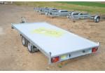 Anssems Plateau multi-usage MSX 405 x 200 plancher alu rampes et treuil PTAC 3000 kg