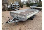 Franc Plateau multi-usages RIS 400 x 200 ridelles de 35 cm PTAC 2500 kg