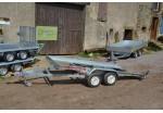 Satellite Porte-voiture VTX 423 x 198 basculant rails larges PTAC 1800 kg