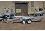 Satellite Porte-voiture VTX 423 x 198 basculant rails larges PTAC 2200 kg