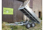 Kerenzo Benne 300 x 150 double essieux PTAC 750 kg