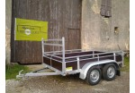 Kerenzo Bois 254 x 150 double essieux PTAC 750 kg