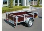 Kerenzo Bois 222 x 128 simple essieu PTAC 500 kg