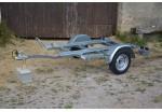 Sorel Porte-moto 220 x 130 2 rails PTAC 500 kg